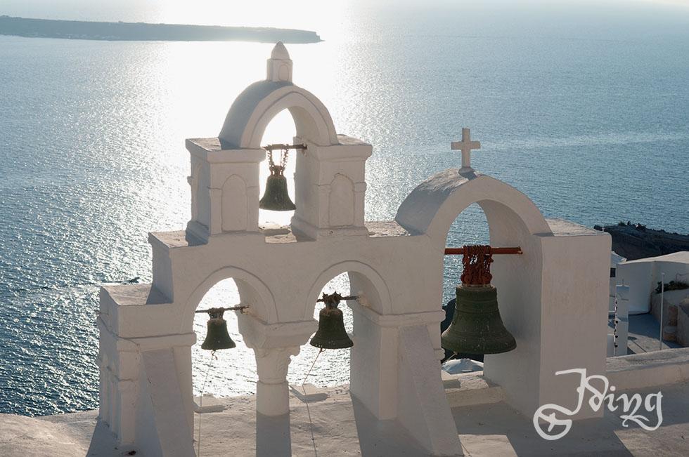 Oia, der Künstlerort ganz am äußersten Zipfel von Santorin