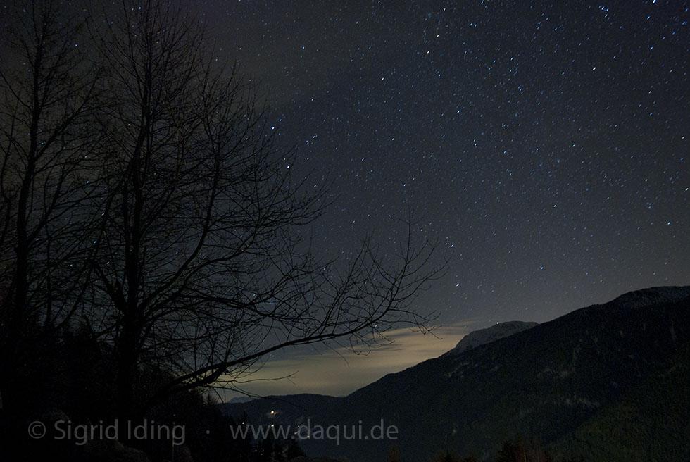 Sternenhimmel über dem Ultental2