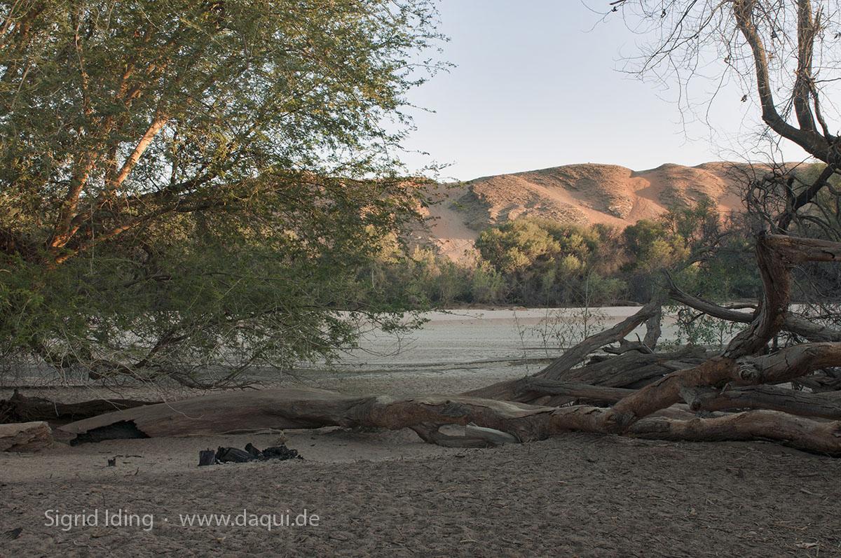Revier des Kuiseb und die Dünen der roten Namib.