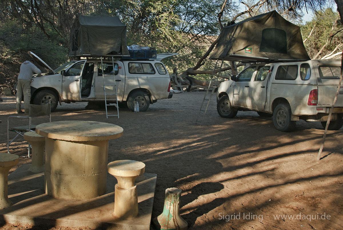 Campsite in Homeb