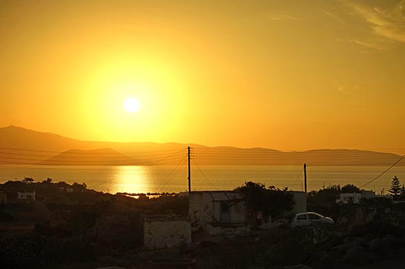 """Sony A7 Szenenwahl """"Sonnenuntergang"""" - Tiefen aufgehellt und Verlaufsfilter"""