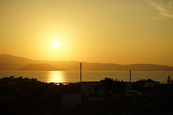 """Sony A7 mit Szenenwahl """"Sonnenuntergang"""" 1"""