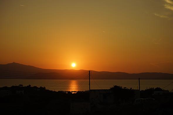 """Sony A7 Szenenwahl """"Sonnenuntergang"""" 10 min später"""