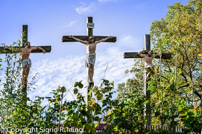Kreuzigungsgruppe in Birkenstein