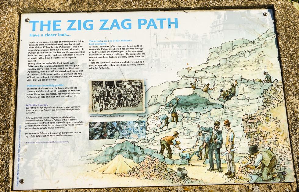Folkstone Zig Zag Path