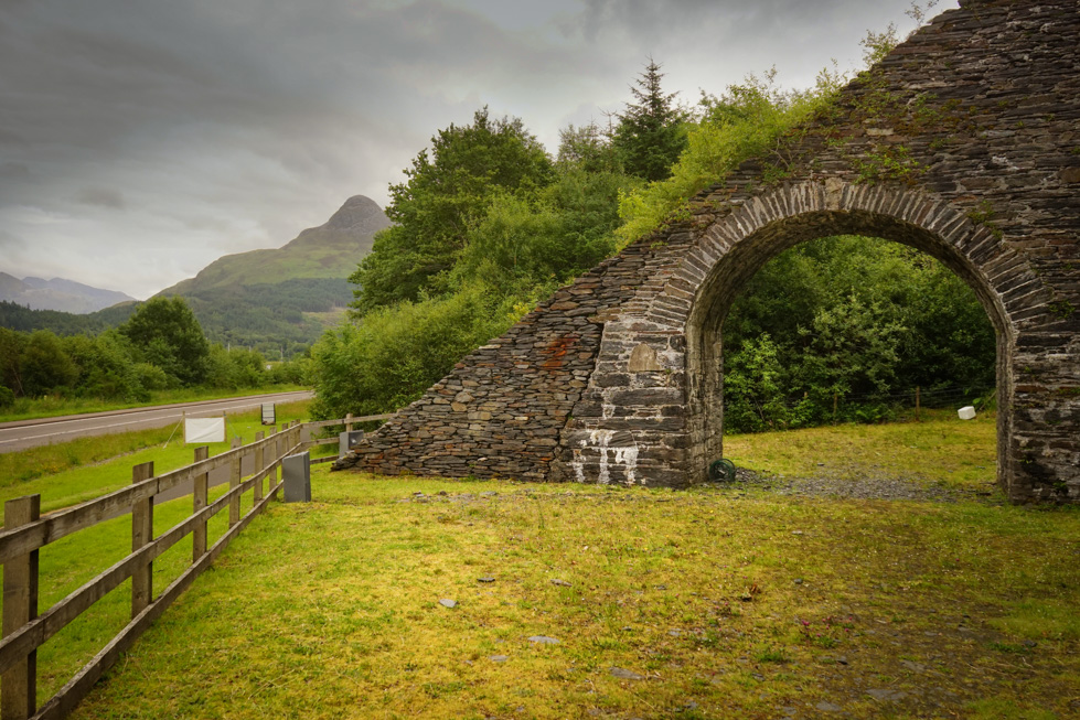 Slate Arch and Inclined Plane