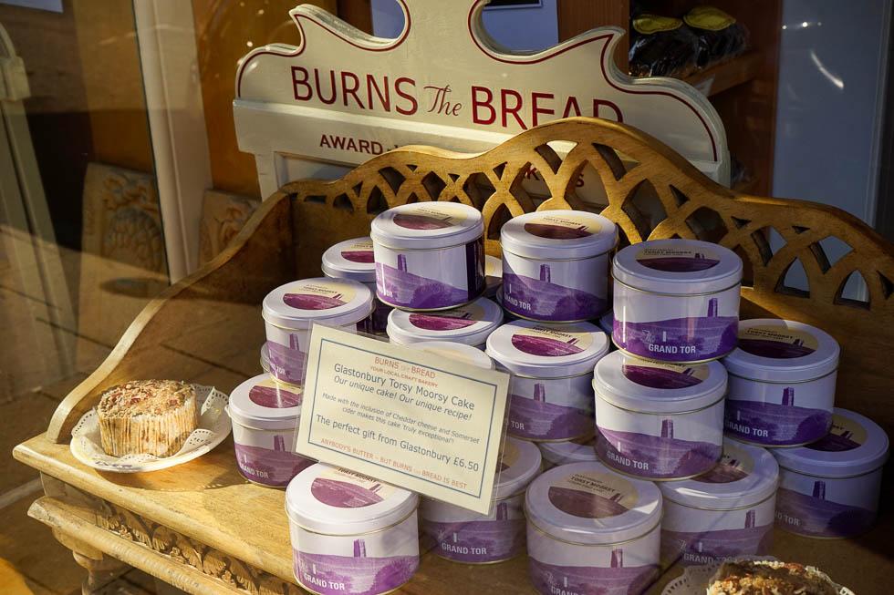 Glastonbury Burns The Bread