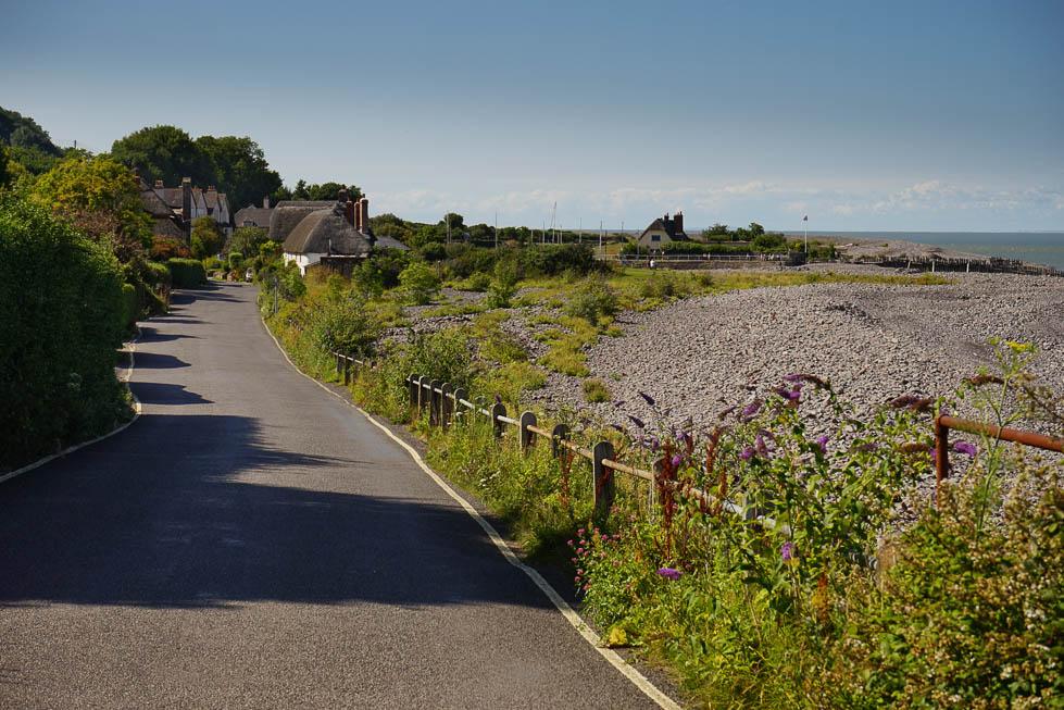 Nach Porlock Weir kommt man auch über eine kleine Zufahrtsstraße.