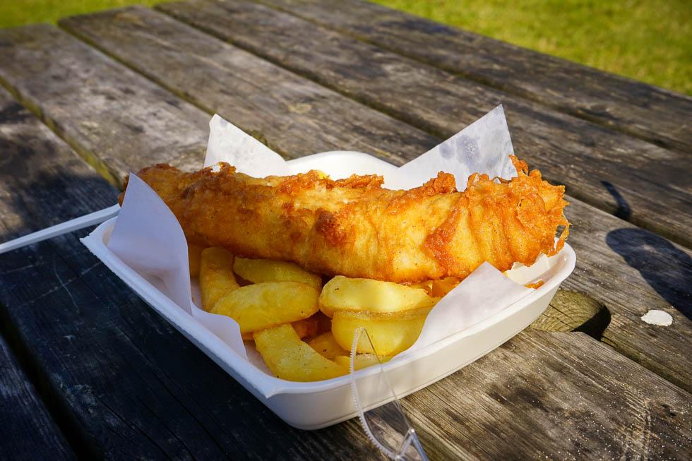 Porlock Weir - Bestes Fish and Chips von ganz England