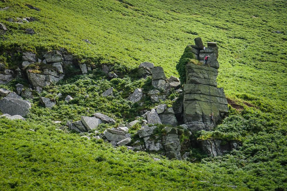 Valley of the Rocks - Kletterer