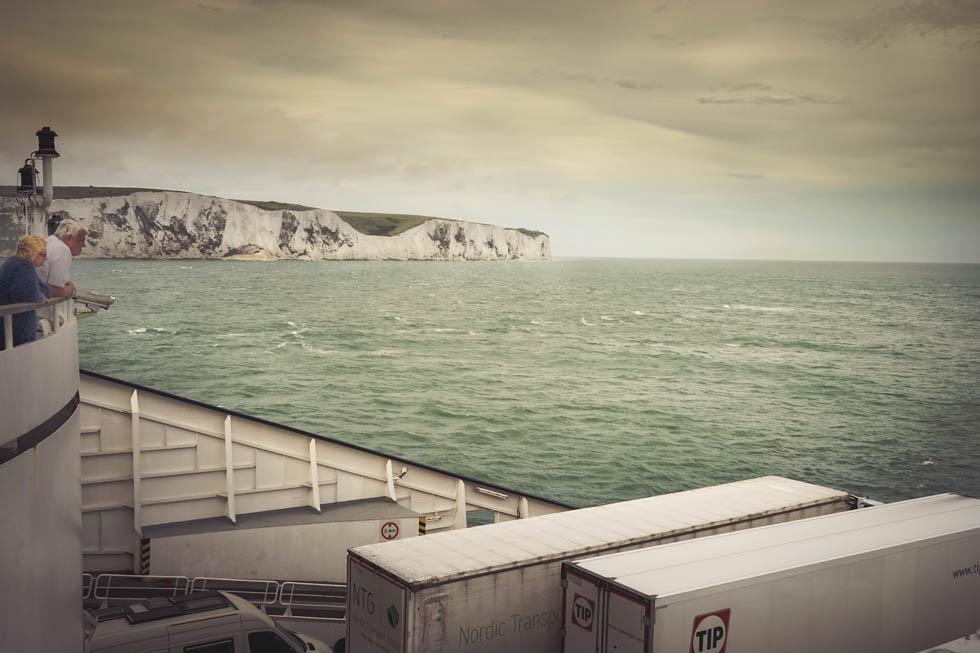 Ankunft Dover