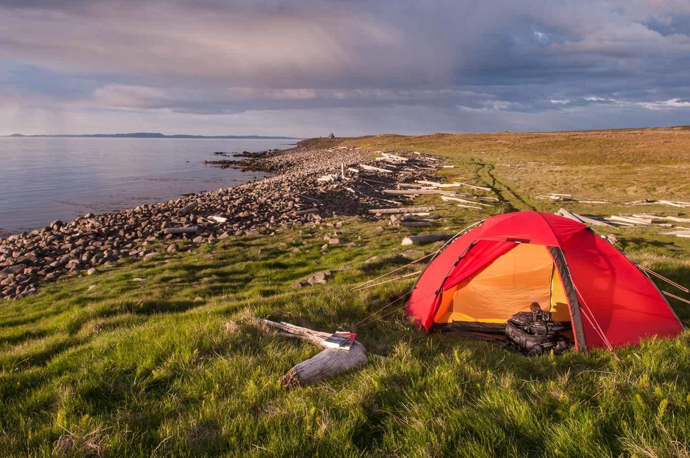 island zelten erlaubt