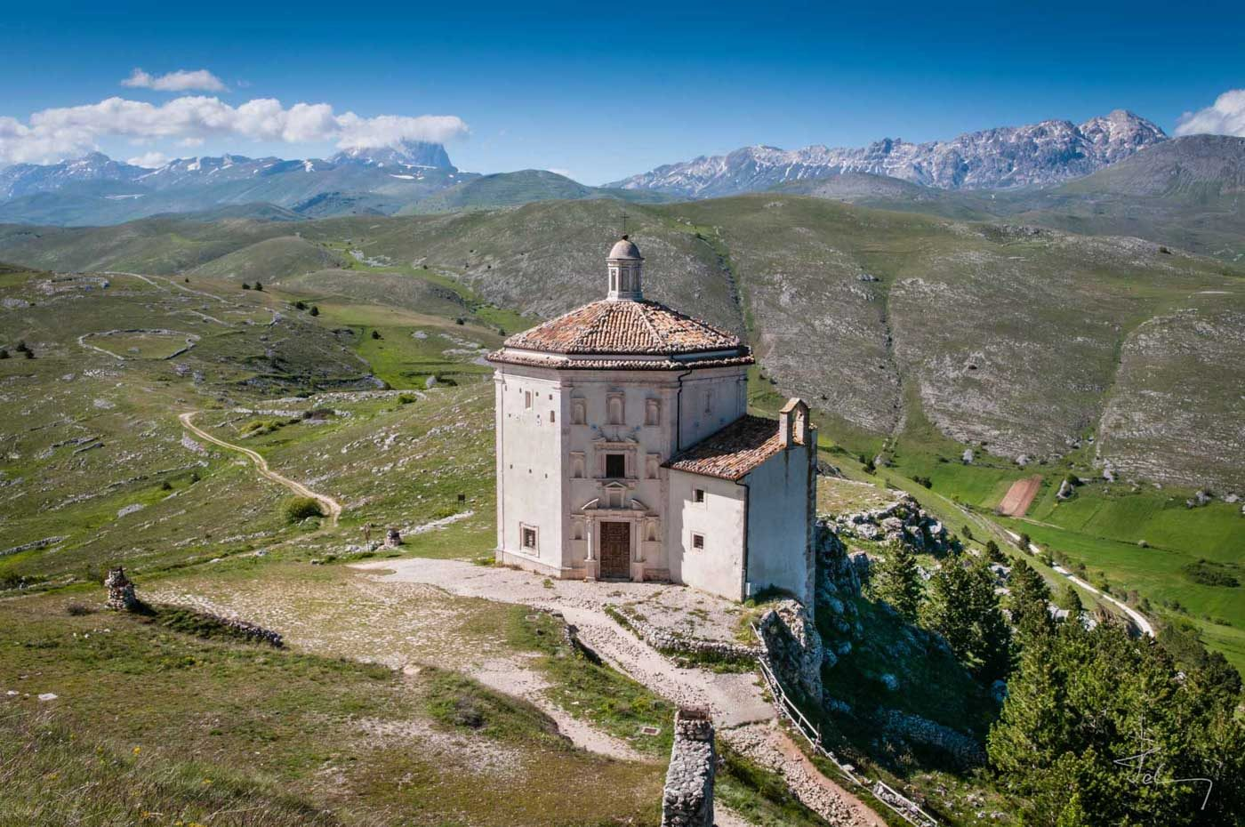Kapelle bei Rocca di Calascio im Grand Sasso