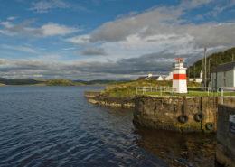Leuchtturm Crinan Sea Lock