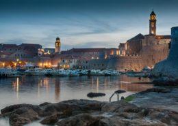 Altstadt Dubrovnik mit Stadthafen