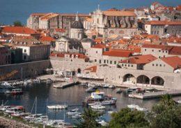 Dubrovnik Altstadt - Skyline und Altstadthafen