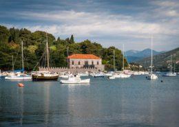 Dubrovnik Boote im Hafen