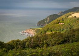 Nord Devon Steilküste