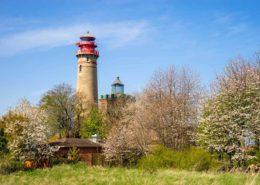 Kap Arkona Leuchtturm Leuchtfeuer Rügen