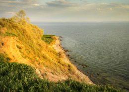 Steilküste bei Klein Zicker Rügen