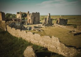 Kloster Lindisfarne auf Holy Island