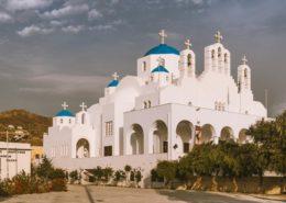 Metropolitan Cathedral of the Greek Orthodox Church Naxos