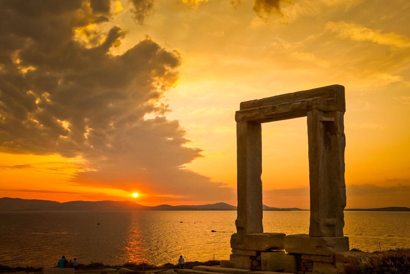 Portara Apollon Tempel auf Naxos