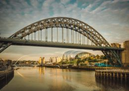 The Tyne Bridge in Newcastle
