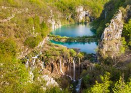 Plitvice National Park Wasserfall und Seen