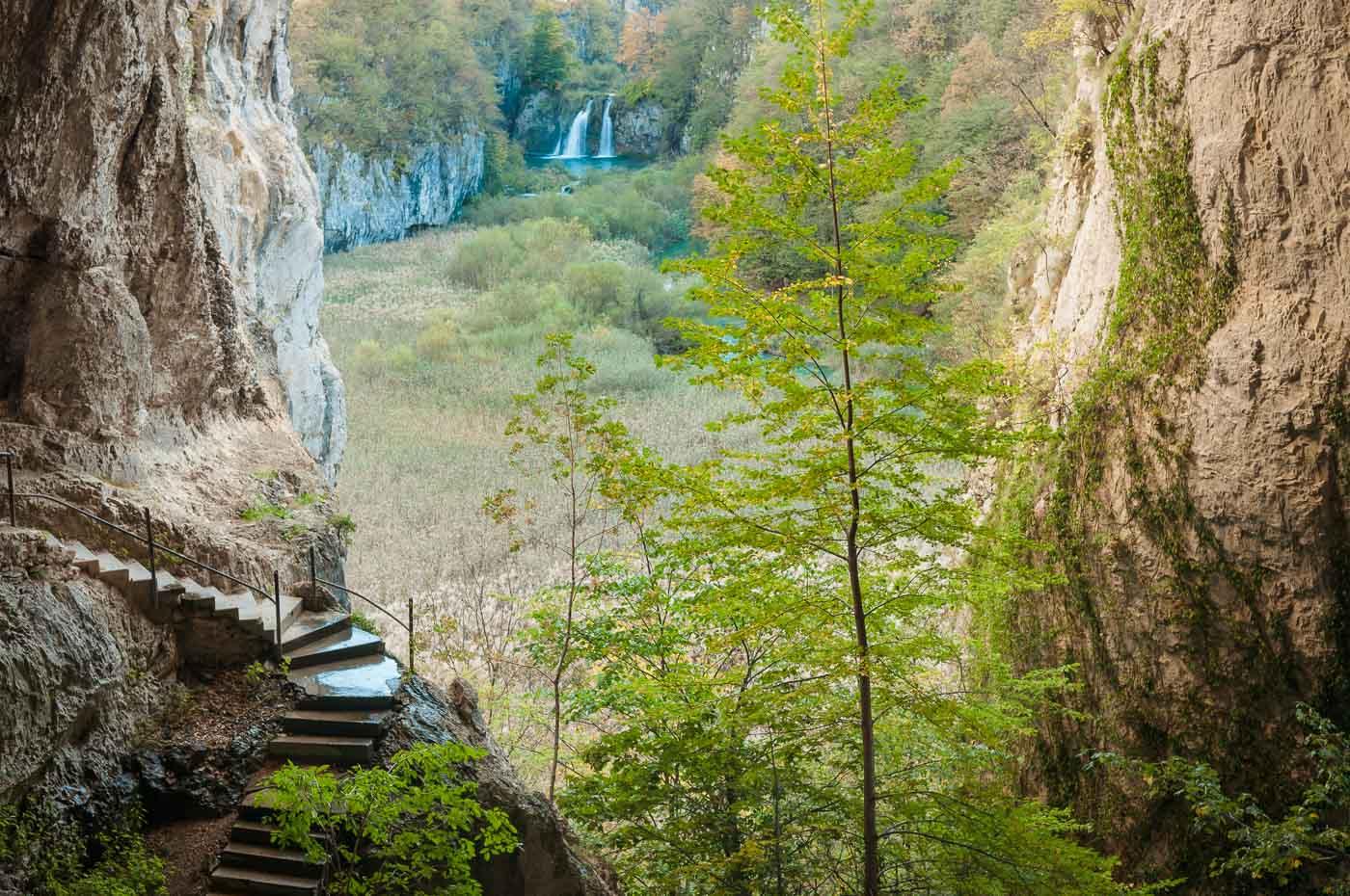 Plitvice National Park Höhle