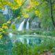 Plitvice National Park Wasserfall