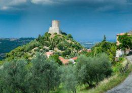 Rocca d_Orcia in der Toskana