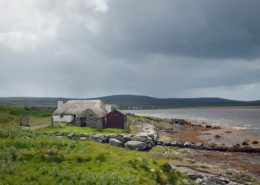 Traditional House on Uist Scotland