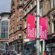 Glasgow-Slogan People make Glasgow
